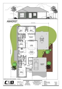 View Amherst floor plan