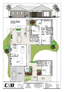 Kadjina Broome Display floor plan